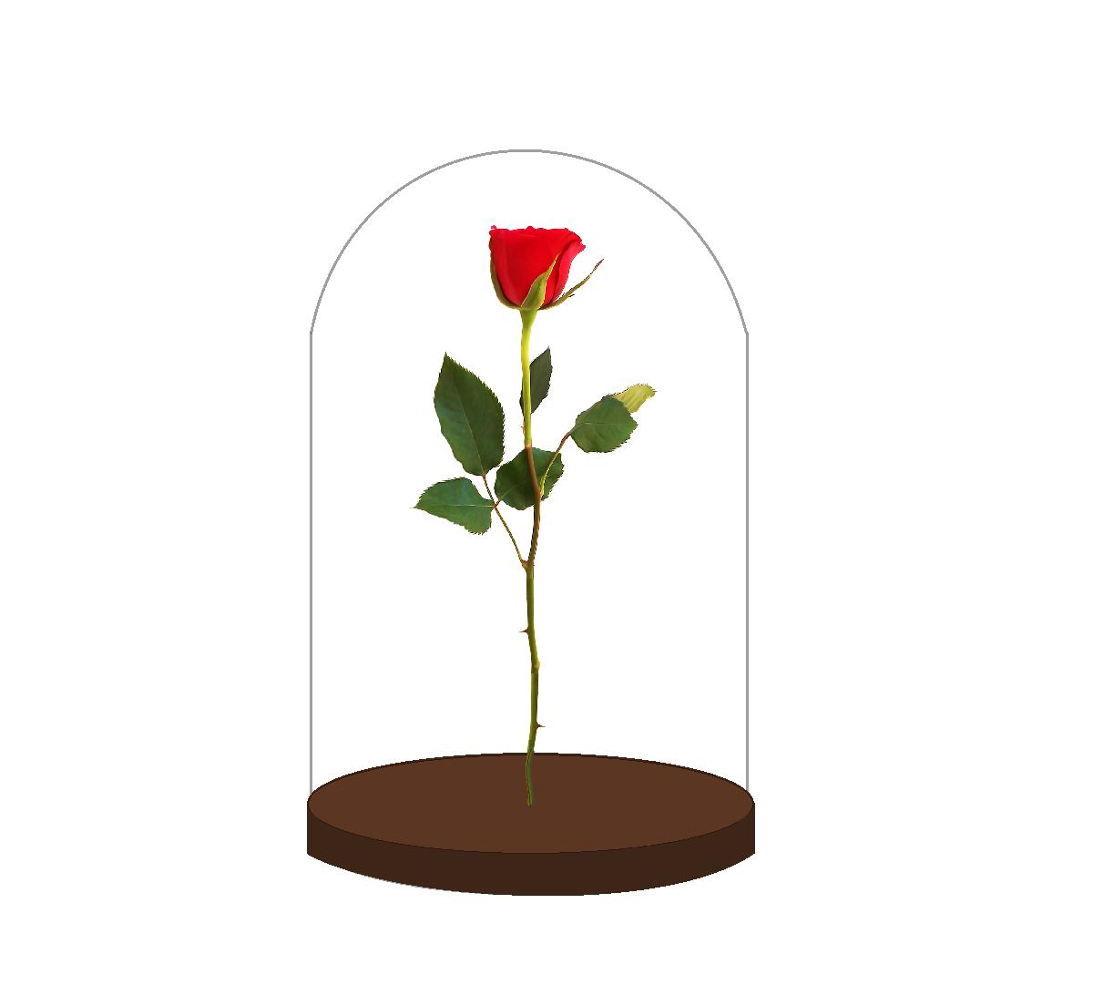 Manualidades hechas con materiales reciclados para hacer personajes de la bella y la bestia, la rosa encantada, Lumiere y Ding Dong. DIY